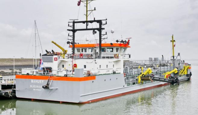 Dutch Dredging's New TSHD Mahury Commissioned | Dredging